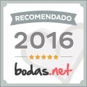 Recomendado (5 estrellas) en Bodas.net